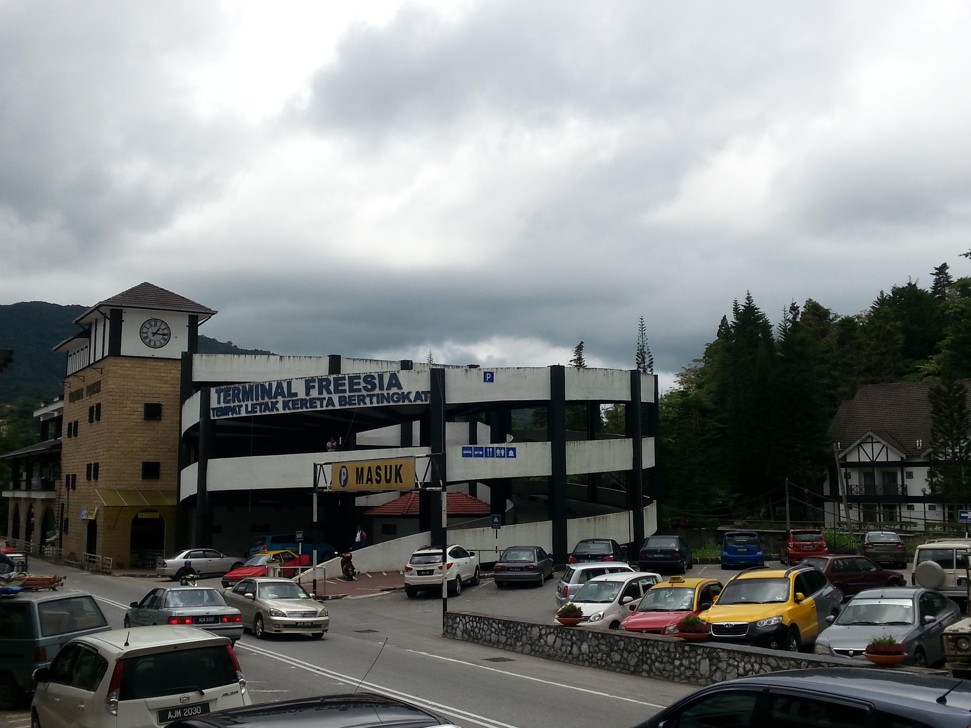Tanah Rata Bus Terminal