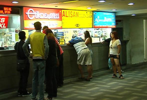 Pudu Sentral New Counter