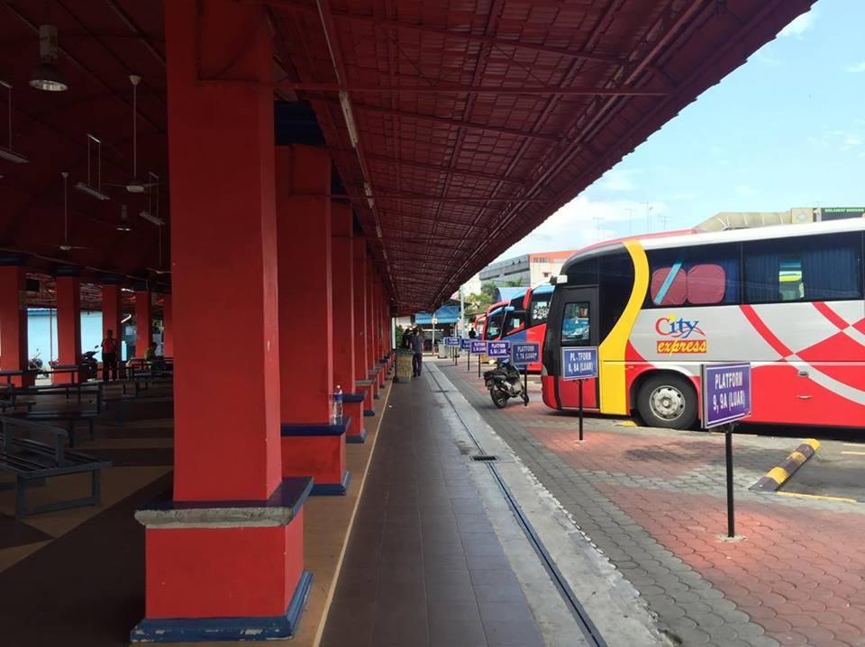 Muar bus terminal