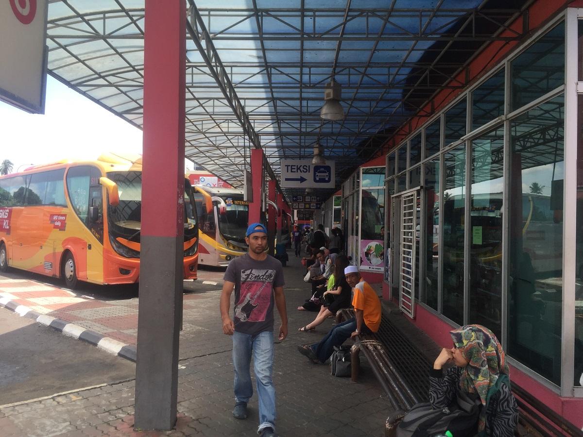 Segamat Malaysia  City new picture : Segamat Bus Terminal is major transportation hub in Segamat serving ...