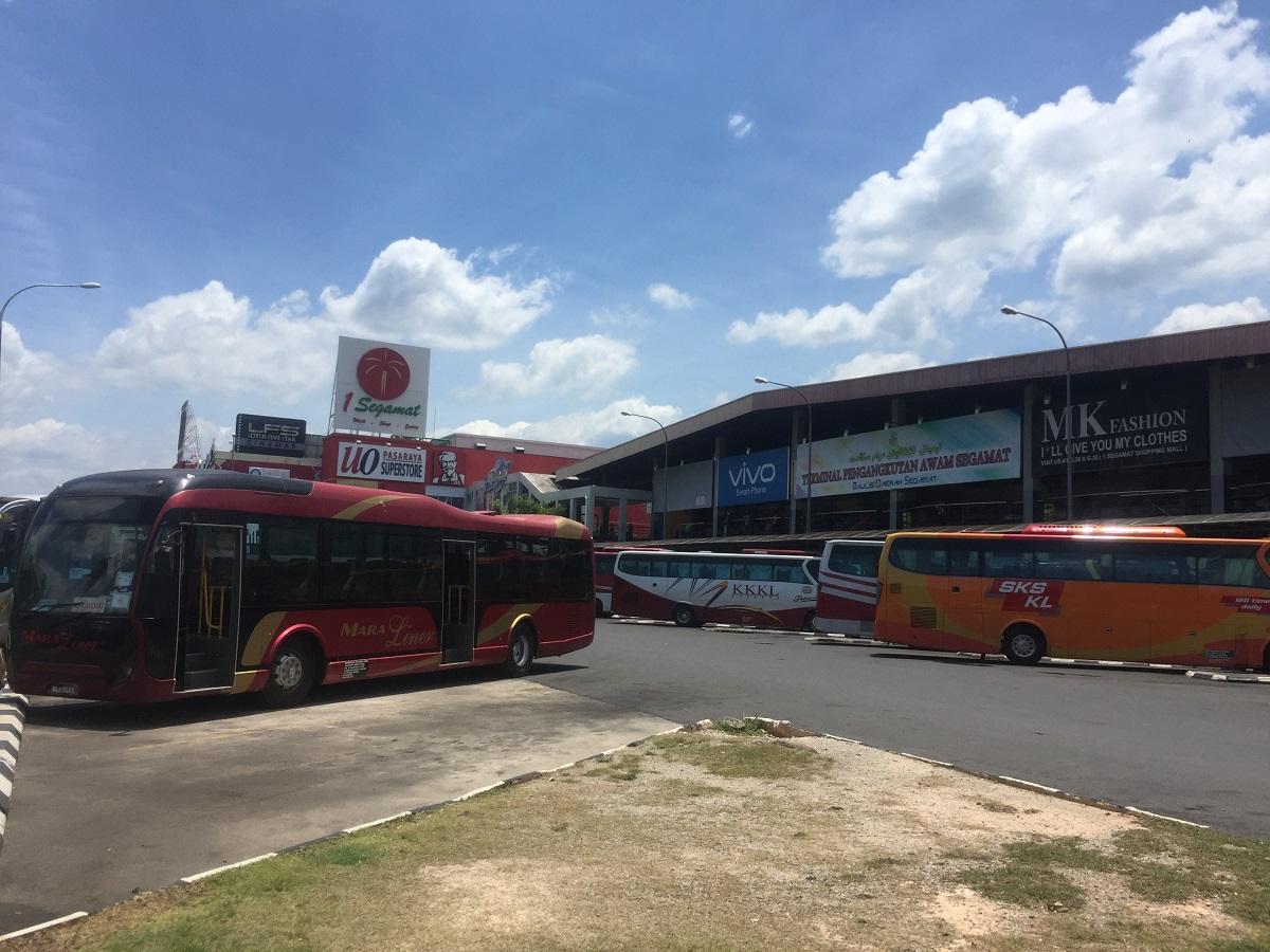 Segamat bus terminal
